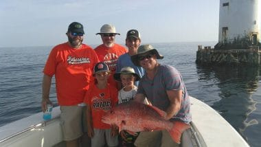 Family Offshore Charter - Big Fish SGI